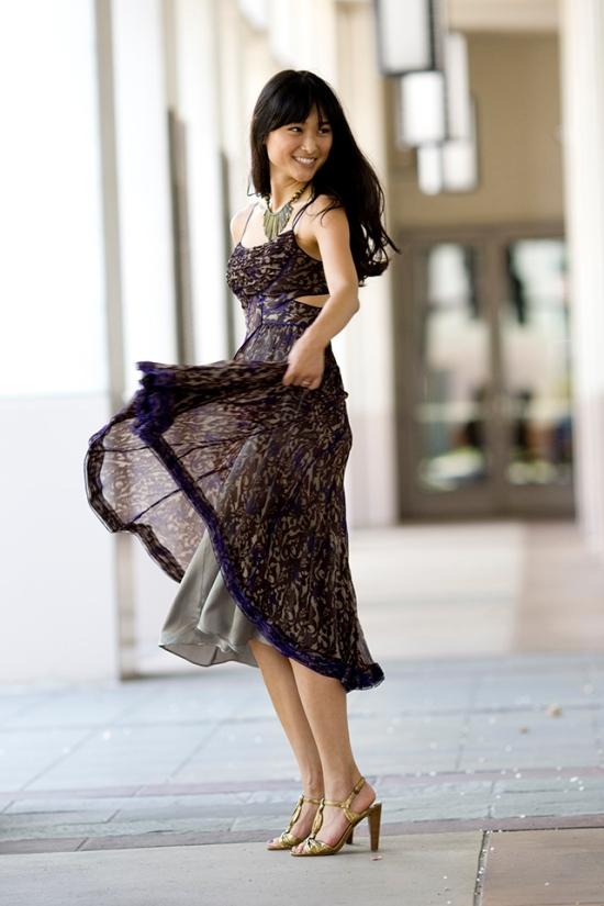 Erica Davies Dress twirl