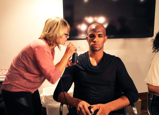 anthony franco male model makeup