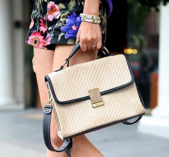 jason wu for target straw purse gap leather wrap bracelet