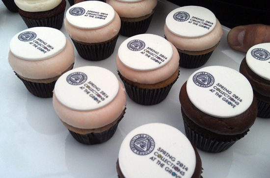 LAFC Sprinkles Cupcakes