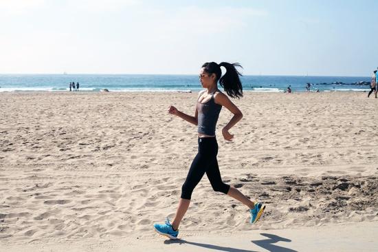 running venice beach