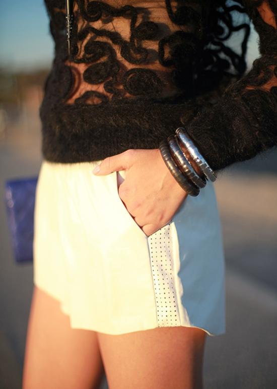 topshop bracelets blue sparrow shorts