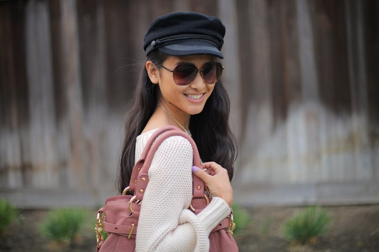 catching couture h&m wool sailor cap