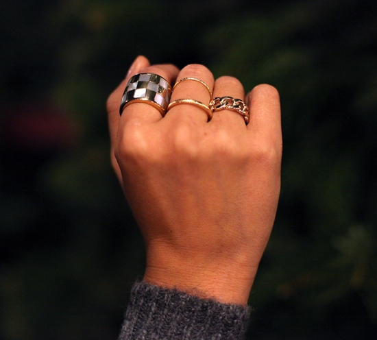 kelly wearstler mother of pearl ring h&m gold thin rings forever 21 curb chain ring