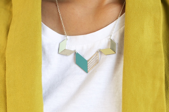 shlomit ofir formica tribal necklace