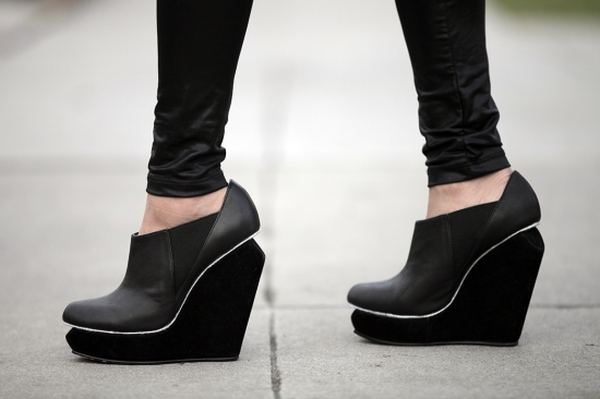 senso acacia wedge booties