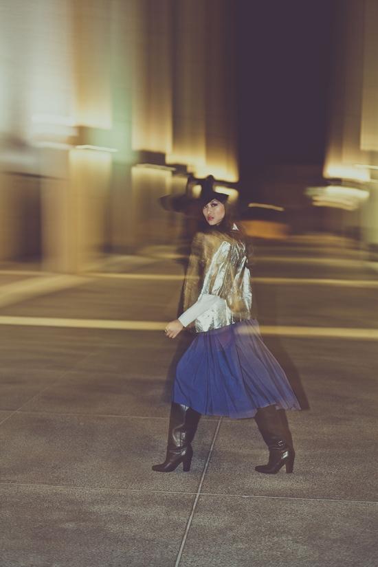 taylor kent h&m over the knee leather boots paris fashion show