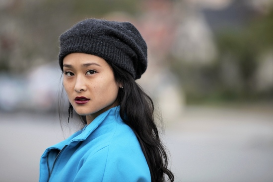 topshop slouchy knit beanie