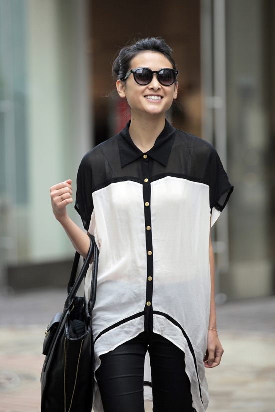 wish mania tunic blouse toms bellevue black sunglasses