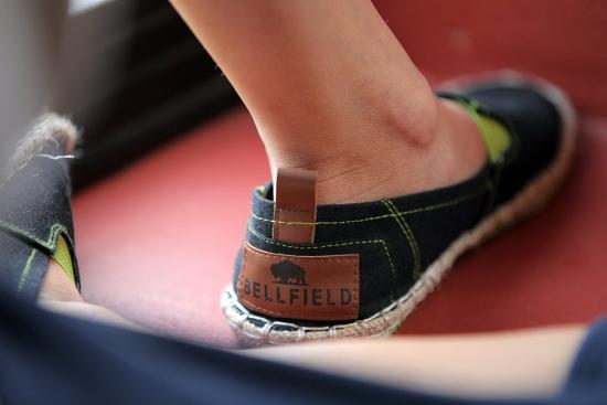 asos bellfield black dorobo espadrille shoes