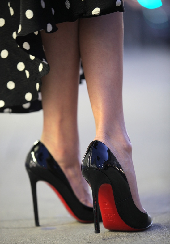 christian louboutin pigalle 120mm pointed patent leather pumps