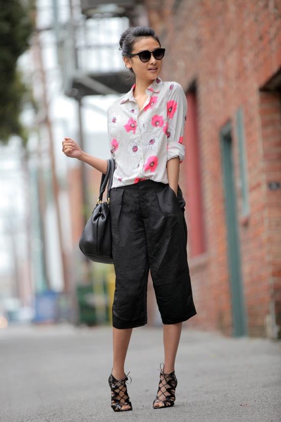 target merona womens favorite blouse floral print zara bermudas long shorts
