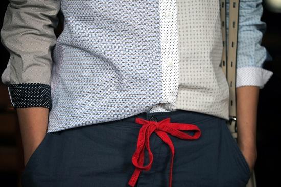 uniqlo ines de la fressange idlf linen blended relaxed pants drawstring