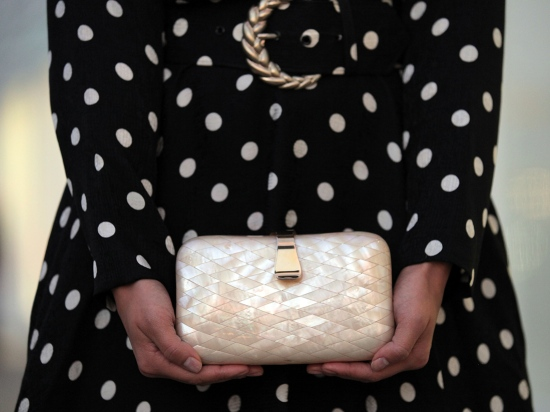 vintage abalone shell clutch catching couture