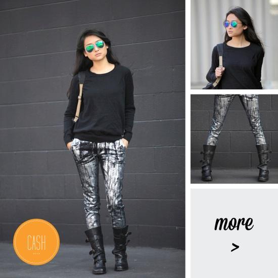 kelly wearstler jeans moto boots