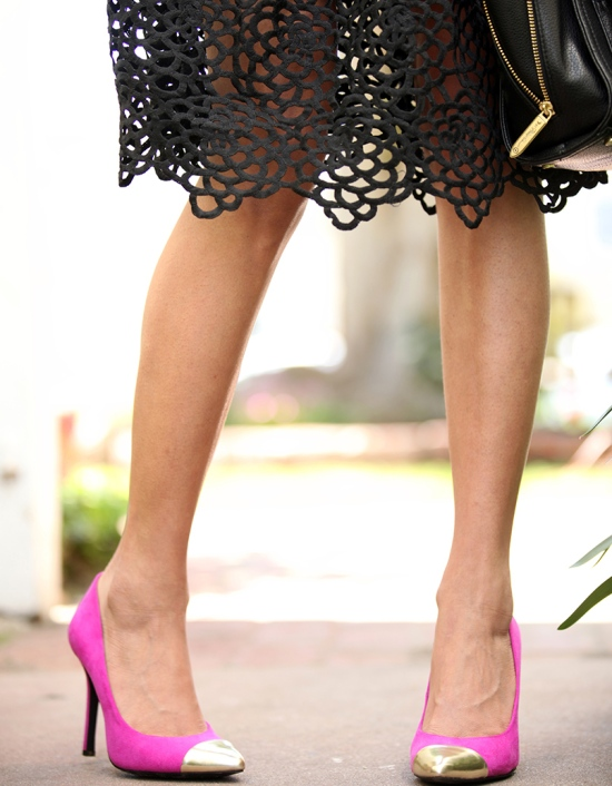 target mossimo noreen pointed cap toe pumps