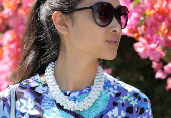 dvf diane von furstenberg keke sunglasses zara metal necklace