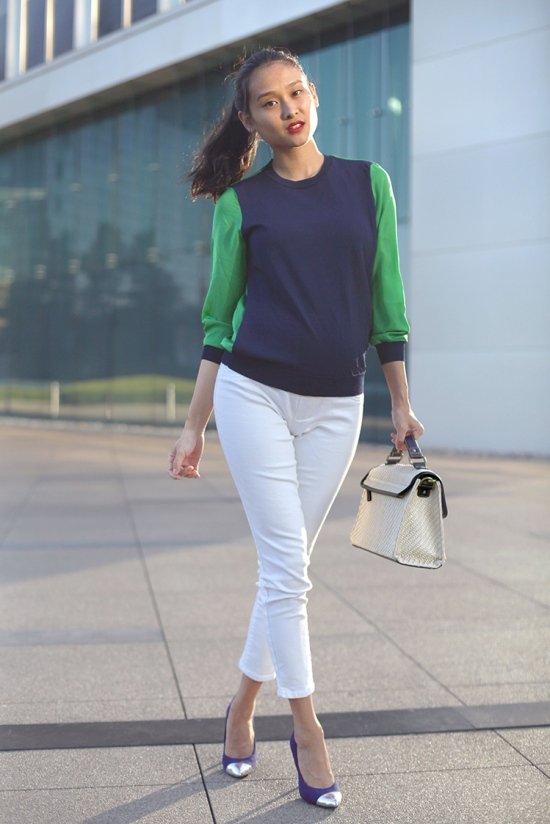 phillip lim for target sweater liz lange skinny pants mossimo noreen cap toe pumps