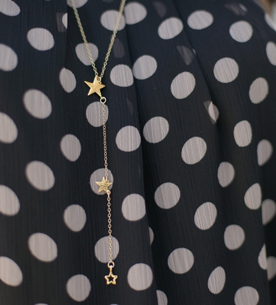 gorjana super star lariat necklace gold