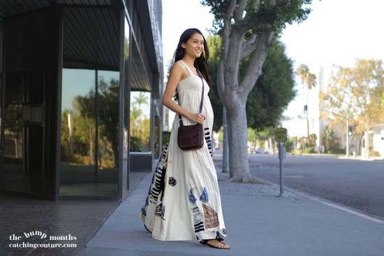 h&m maxi dress st. john's bay leather crossbody bag purse_maternity fashion