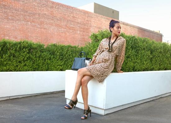 see by chloe leopard silk dress jeffrey campbell trina