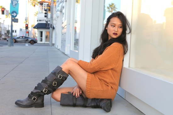steve madden bryant buckle boots