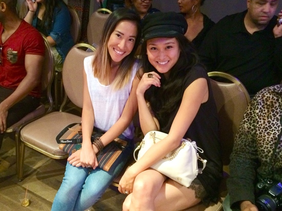 Fashion Bloggers Amanda Nguyen of Feast Fashion Faves and Michelle Forstadt of Catching Couture