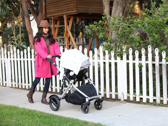 catching couture britax b-ready stroller chaperone car seat