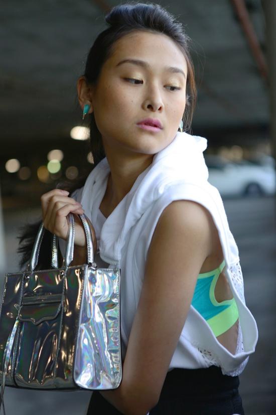 adidas stellasport hoodie platinum holographic rebecca minkoff mini mab
