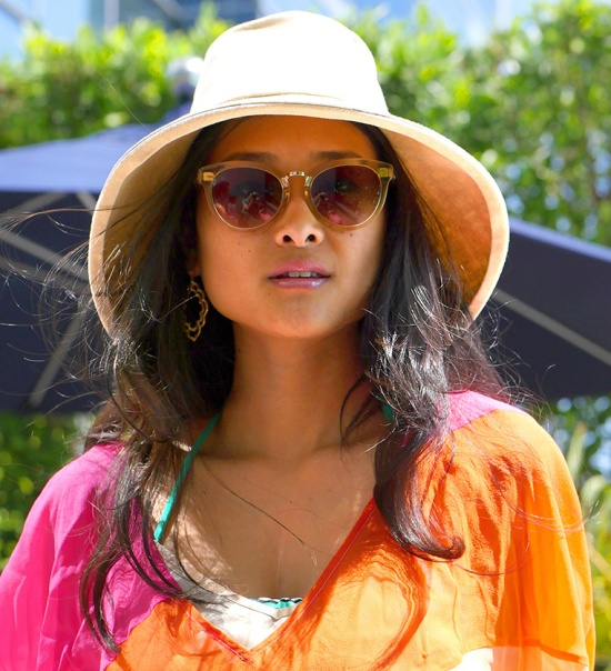 hm studio spring summer 2015 hat toms yvette champagne crystal sunglasses