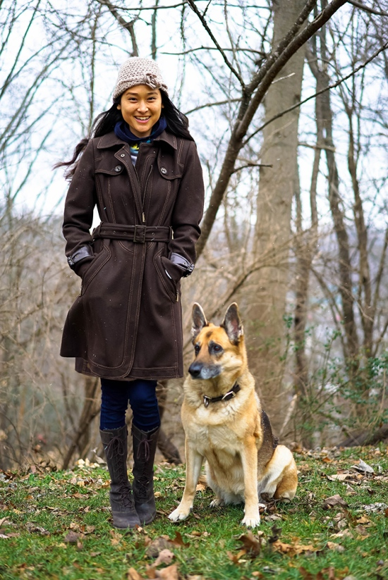 catching couture in nashville german shepherd