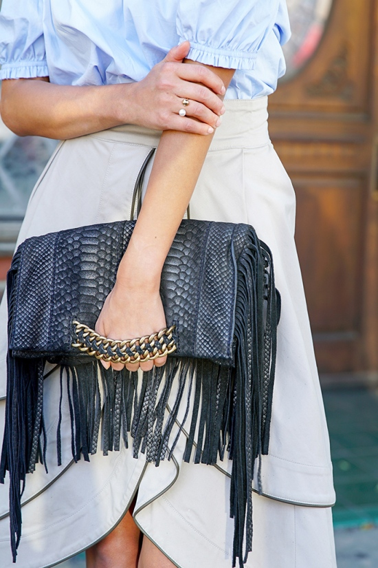 ramy brook stevie fringe bag