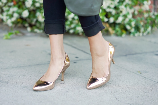 INC International Concepts Women's Zitah Pumps Rose gold